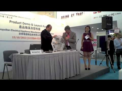 Keppe Motor Lecture in Hong Kong Electronics Fair (香港电子展的汽车讲座Keppe)