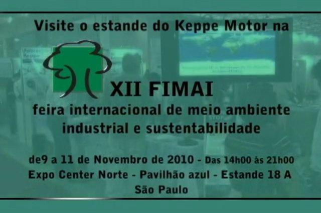 Keppe Motor participa da 12ª FIMAI em São Paulo – 2010