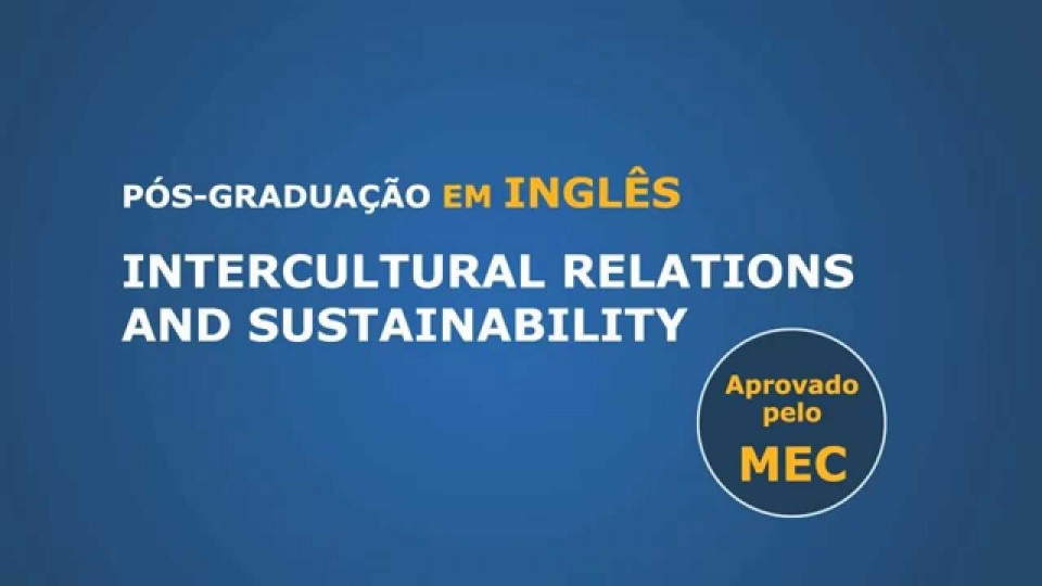 Intercultural Relations and Sustainability – Post Graduation – 6