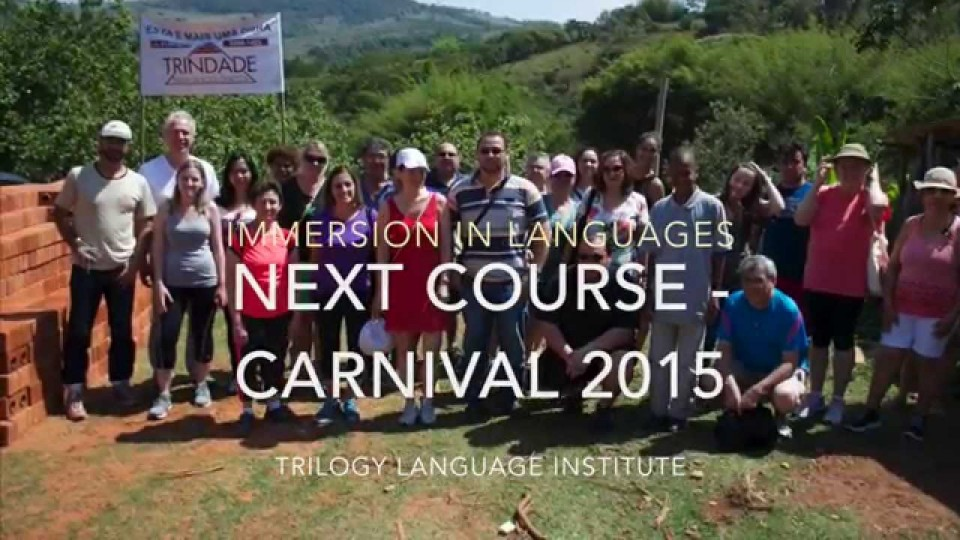 Trilogy Institute Immersion – Nov 2014