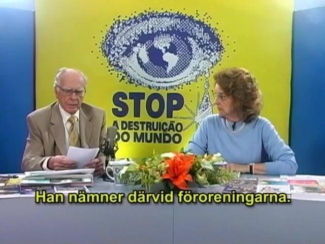 Programmet STOPPA förstörelsen av världen – Nr 161