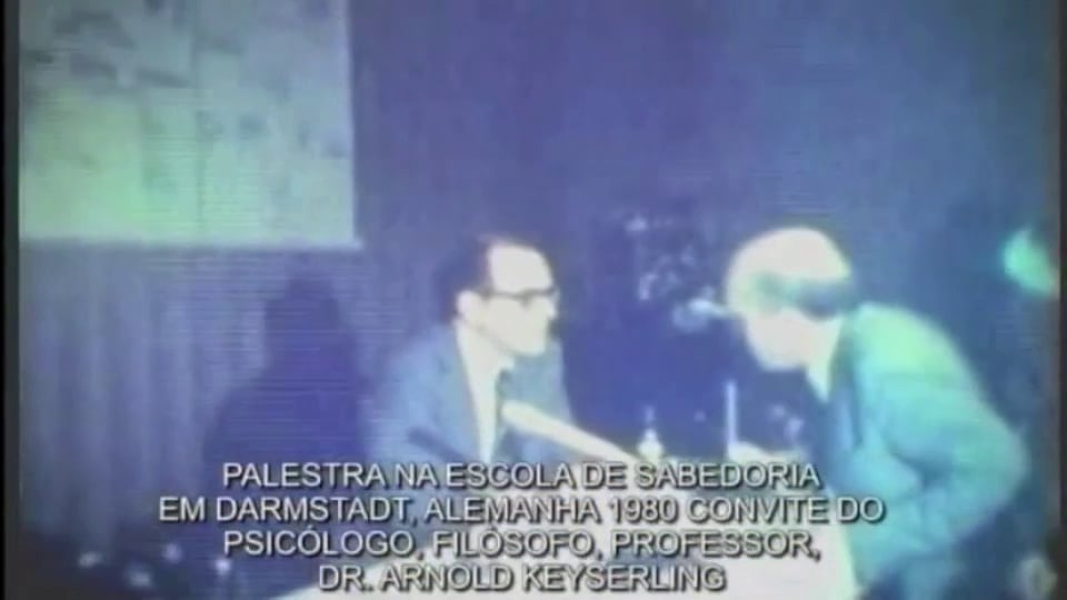 Lecture in Darmstadt, Germany, 1980