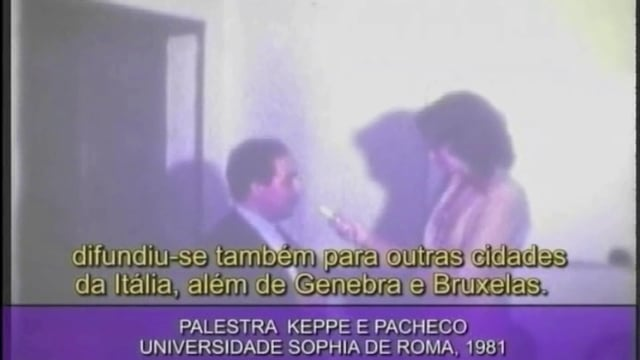 Lecture of Keppe & Pacheco – University of Rome, 1981