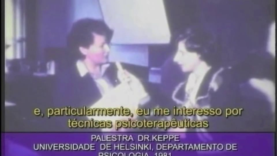 Lecture of Keppe & Pacheco – University of Helsinki, 1981