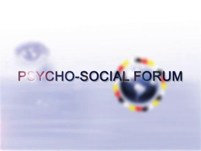 Psycho-Social Forum 2010
