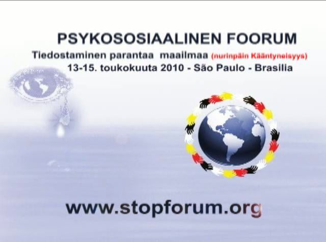 PSYKOSOSIAALINEN FOORUM 2010