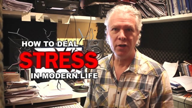 How to deal with stress in modern life