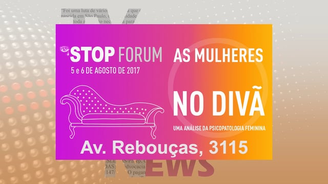STOP FORUM: Mulheres no Divã
