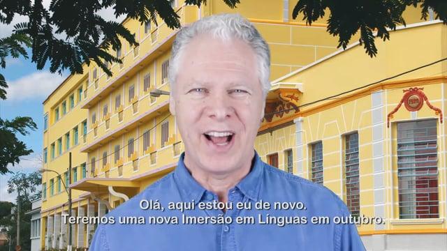 Imersão em Línguas – A Energia Essencial para um Mundo Sustentável – 12 a 15 de Outubro
